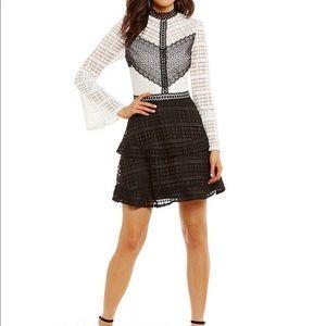 Stylish Gianni Bini Liv lace dress